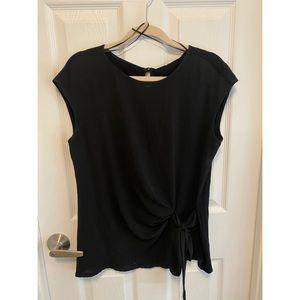 Vince camuto black blouse